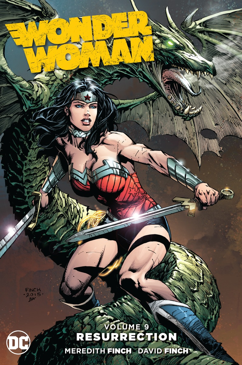 Wonder Woman Vol. 9: Resurrection free shipping 10pcs vnd810