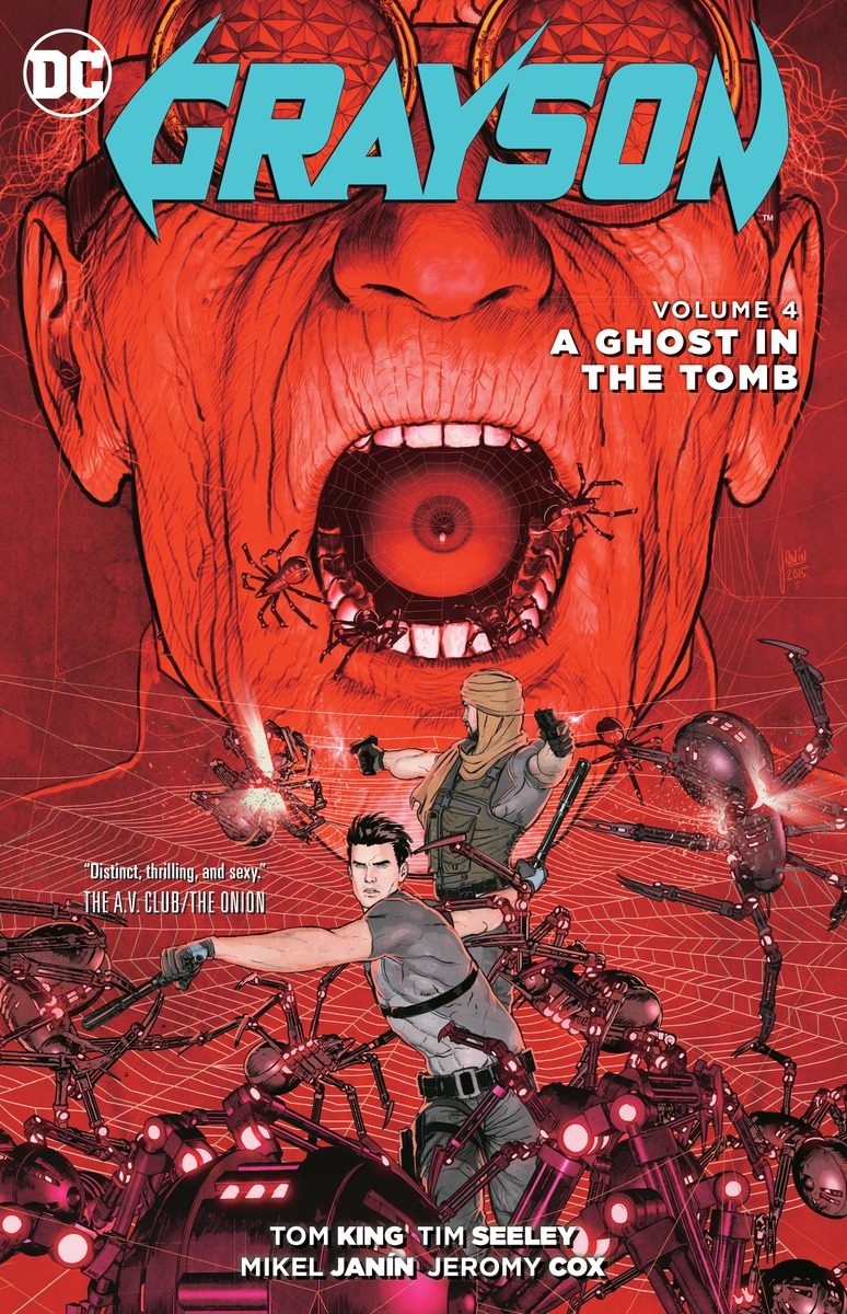Grayson Vol. 4: A Ghost in the Tomb last templar vol 3 the the sunken church