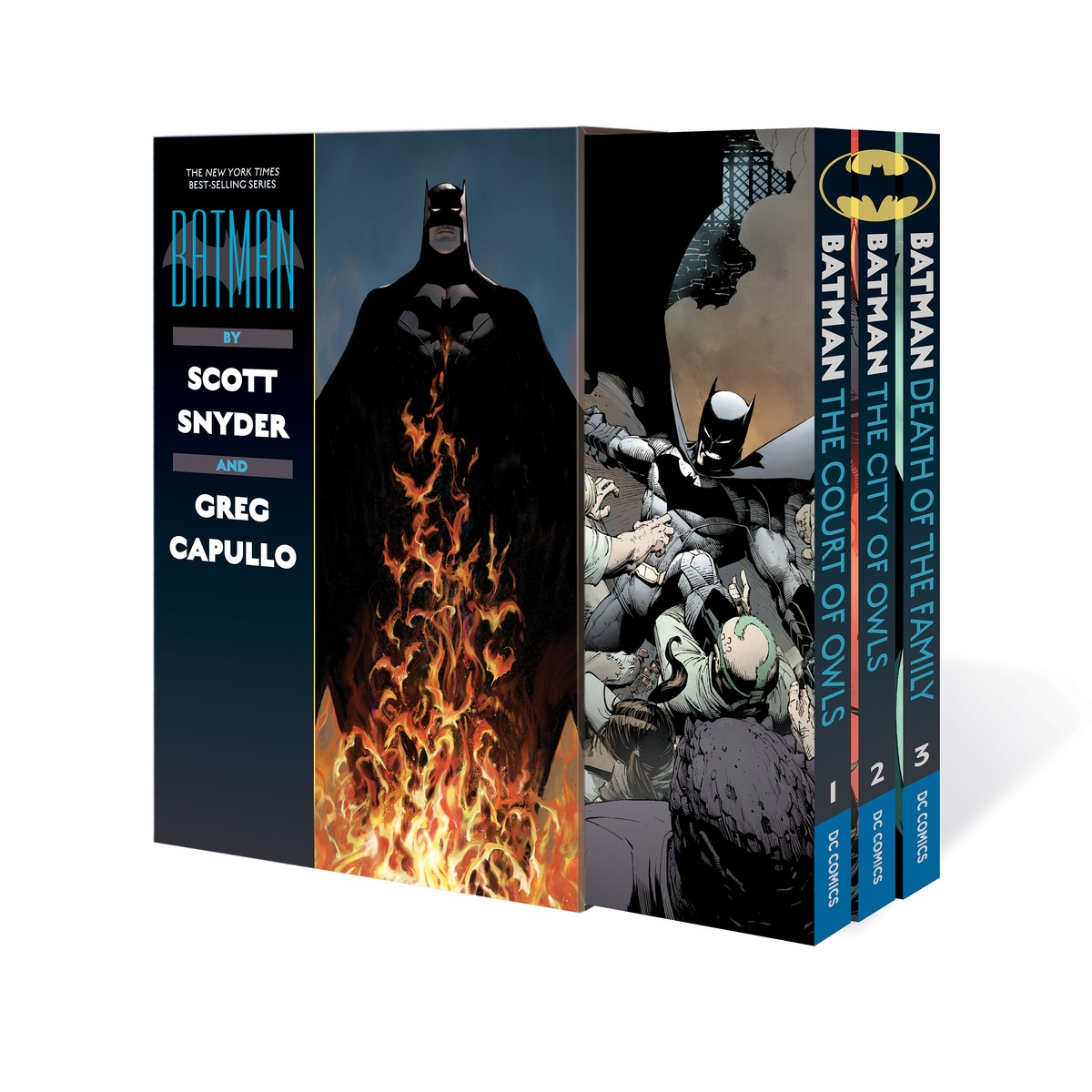 Batman by Scott Snyder & Greg Capullo Box Set batman volume 1 the court of owls