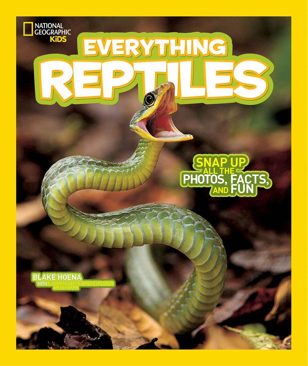 National Geographic Kids Everything Reptiles national geographic kids everything dinosaurs