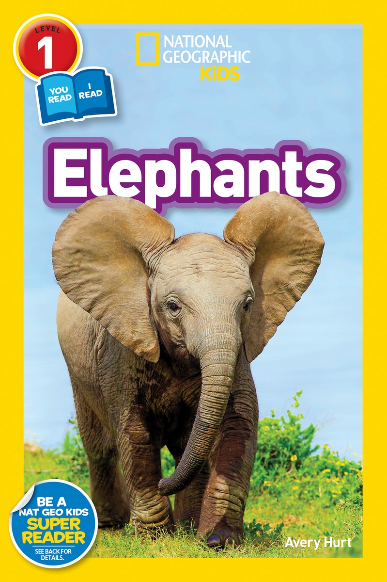 National Geographic Readers: Elephants national geographic readers great migrations butterflies