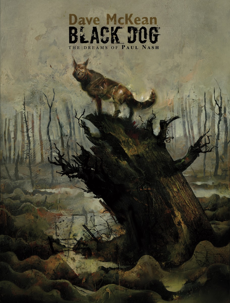 Black Dog: The Dreams of Paul Nash heir of the dog