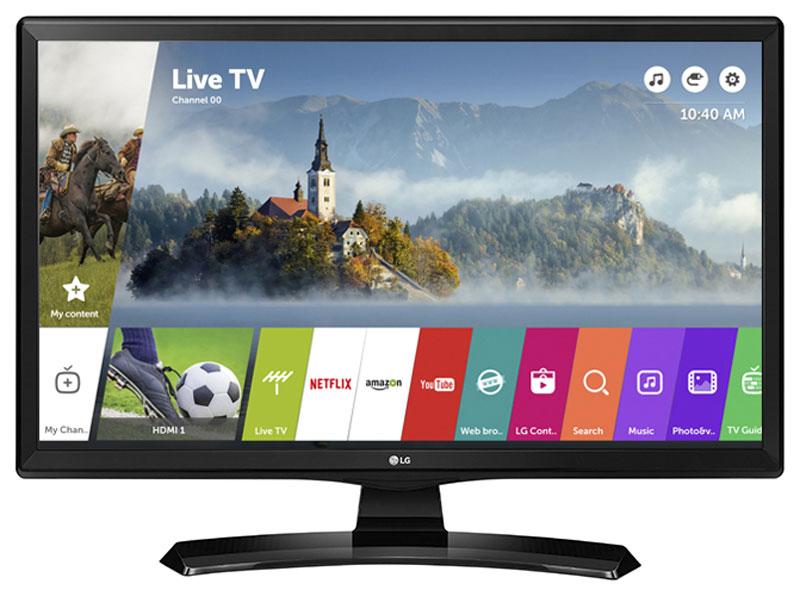 LG 24MT49S-PZ телевизор90000003945ТВ монитор LG 24MT49S-PZ имеет двойное назначение, он сочетает в себе свойства и телевизора и компьютерного монитора. Режим PIP позволит вам смотреть кино и футбол одновременно на одном экране.Насладитесь встроенным Wi-Fi и легким процессом соединения телевизора с внешними устройствами. Просматривайте контент смартфона на большом экране.Благодаря операционной системе webOS 3.5 вы легко найдете нужный контент. Фирменный пульт Magic Remote позволит вам затратить меньше времени на поиск необходимой информации.Вдохновленный красотой и силой природы, дизайн ArcLine дополнит любой изысканный интерьер. Реалистичное качество изображенияс превосходной точностью цветопередачи. Из любого положения картинка будет просматриваться без искажений.Наслаждайтесь фильмами или играми с реалистичным стерео звуком. Благодаря встроенным стерео динамикам, нет необходимости в дополнительных колонках.Разместите телевизор на стене и сэкономите дополнительное пространство в вашем интерьере.