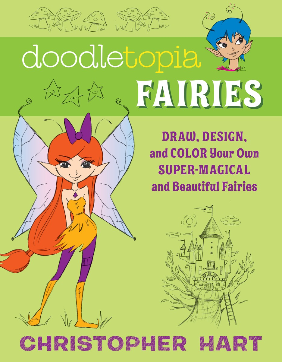 Doodletopia Fairies how to draw fairies and mermaids