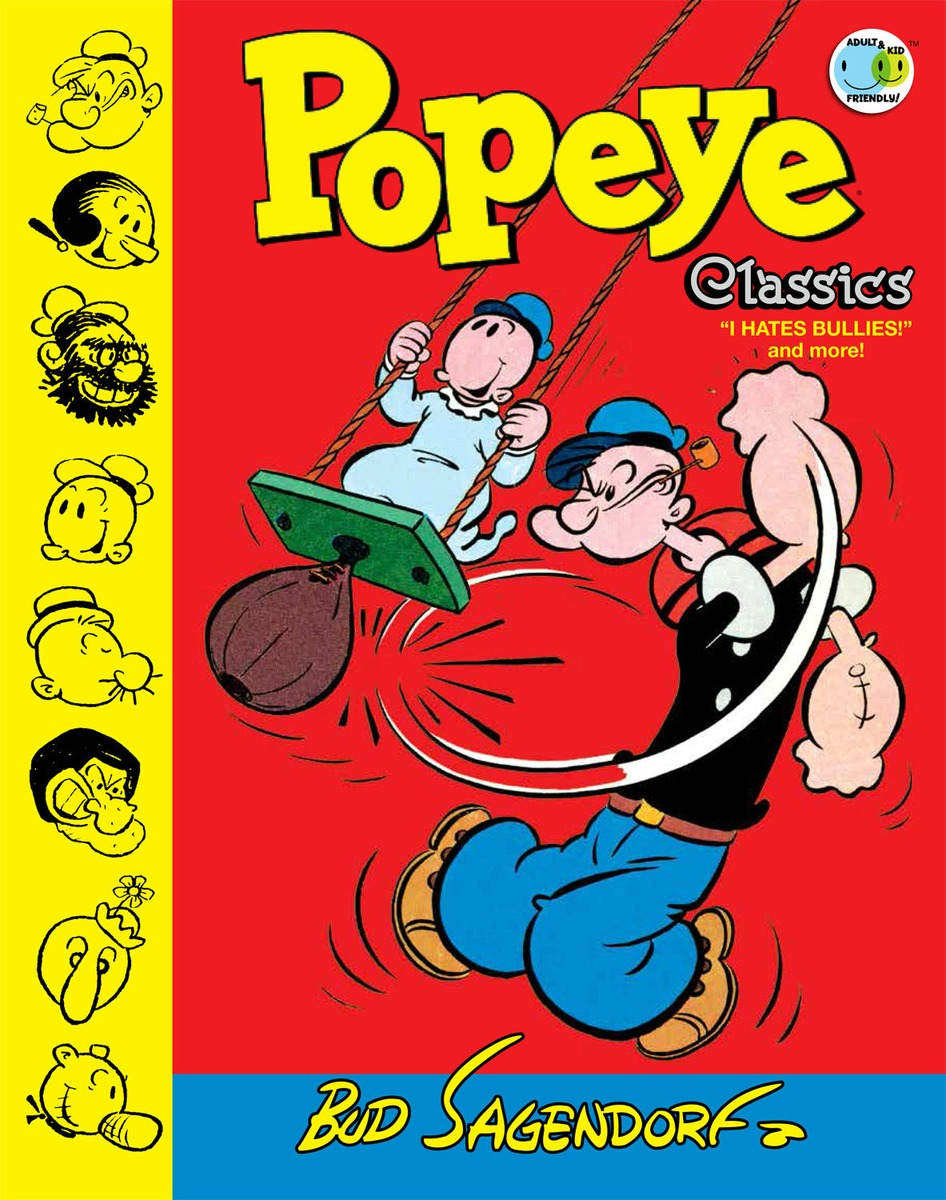Popeye Classics Volume 8: I Hate Bullies and More penguin christmas classics 6 volume boxed set