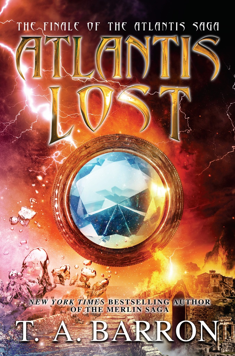 Atlantis Lost family and friends readers 4 the lost world