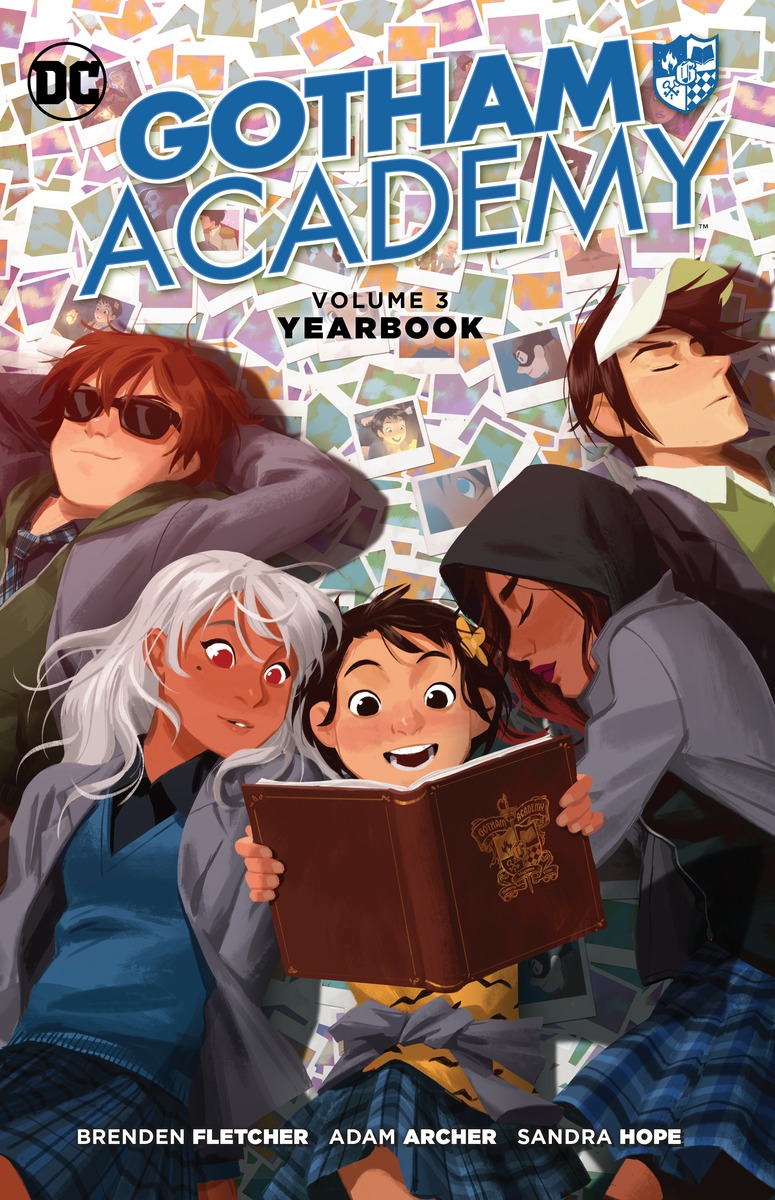 Gotham Academy Vol. 3: Yearbook lady s vol 3 game of fools