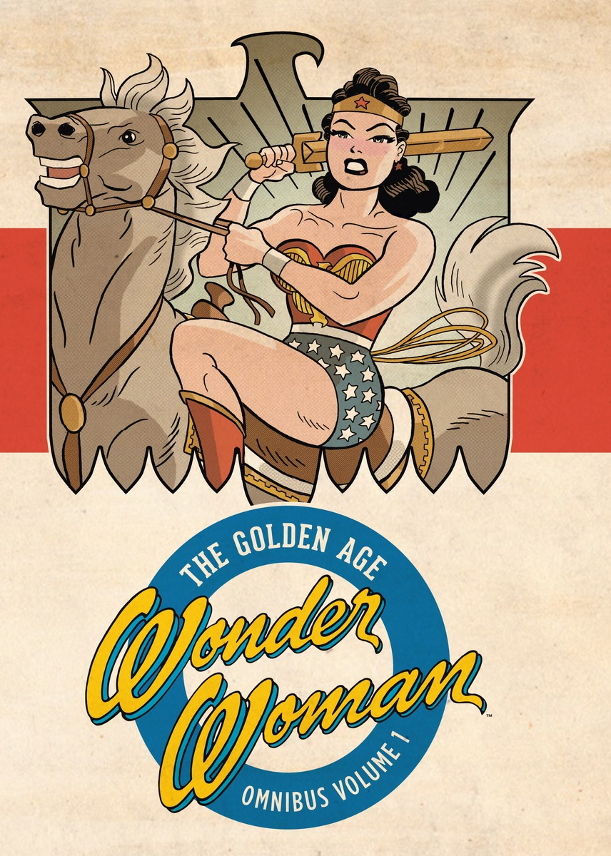 Wonder Woman: The Golden Age Omnibus Vol. 1 batman the golden age vol 4