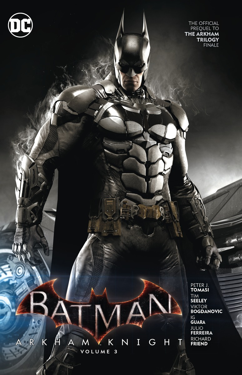Batman: Arkham Knight: Volume 3 набор фигурок batman arkham city batman vs bane 2 в 1 25 см