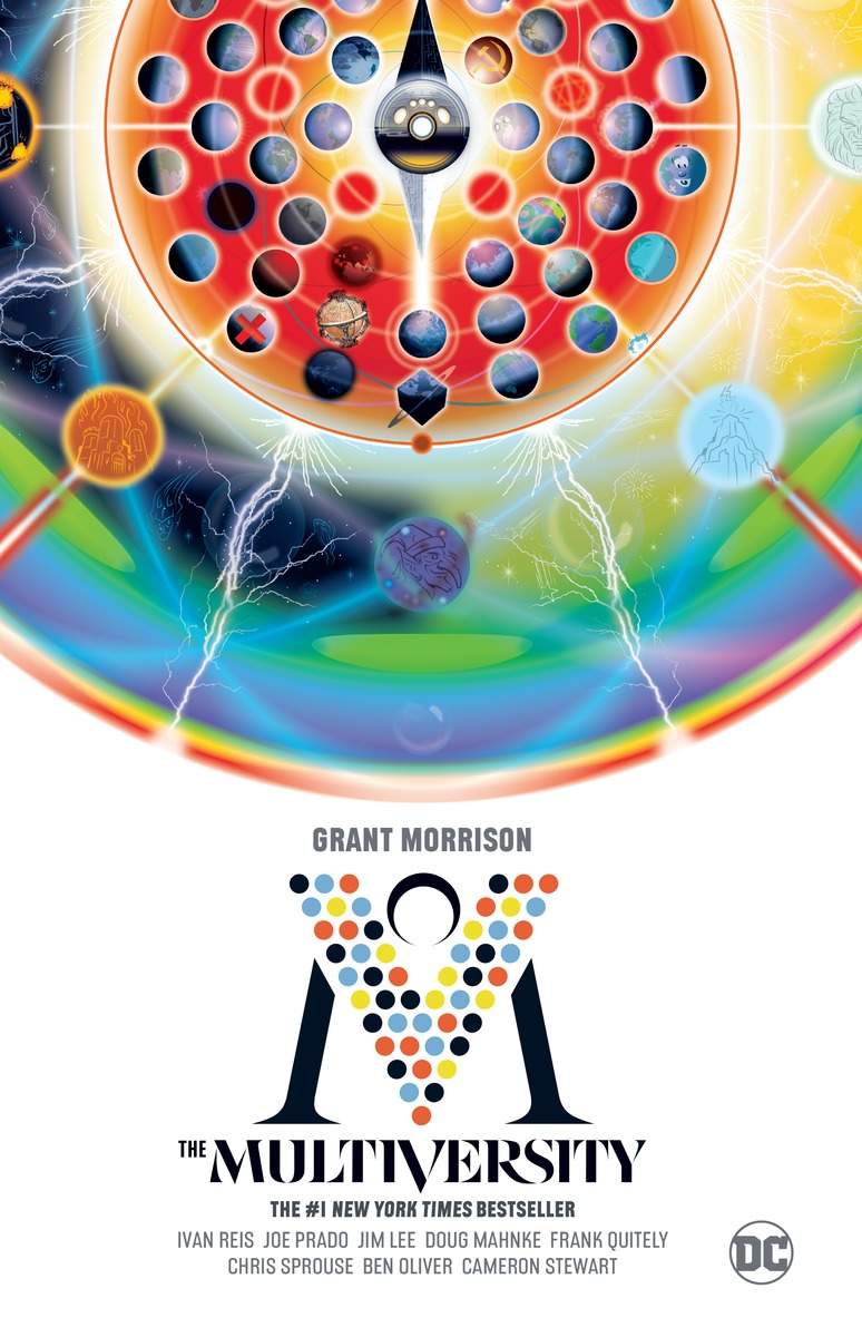 The Multiversity grant morrison the invisibles