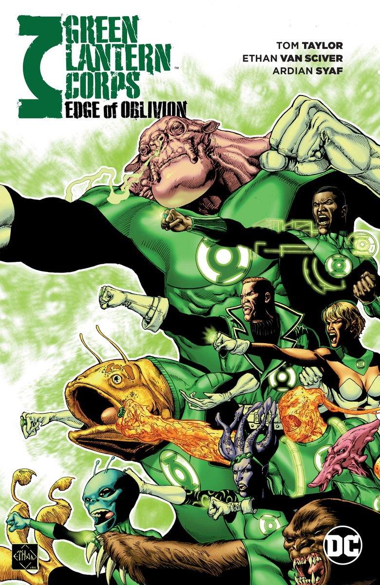 Green Lantern Corps: Edge of Oblivion Vol. 1 lament of the lost moors vol 4 kyle of klanach