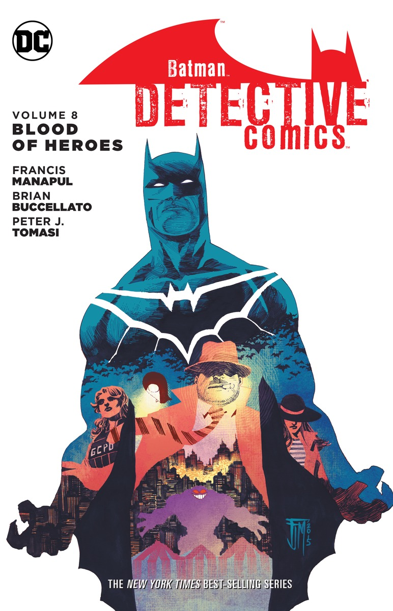 Batman: Detective Comics Volume 8: Blood of Hereos bodies the whole blood pumping story
