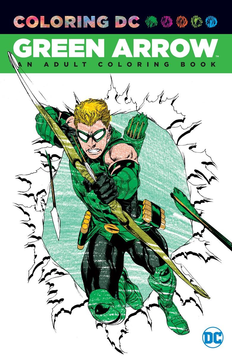 Green Arrow: An Adult Coloring Book