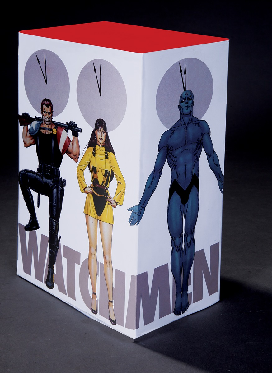 Watchmen Collector's Edition Slipcase Set fundamentals of physics extended 9th edition international student version with wileyplus set