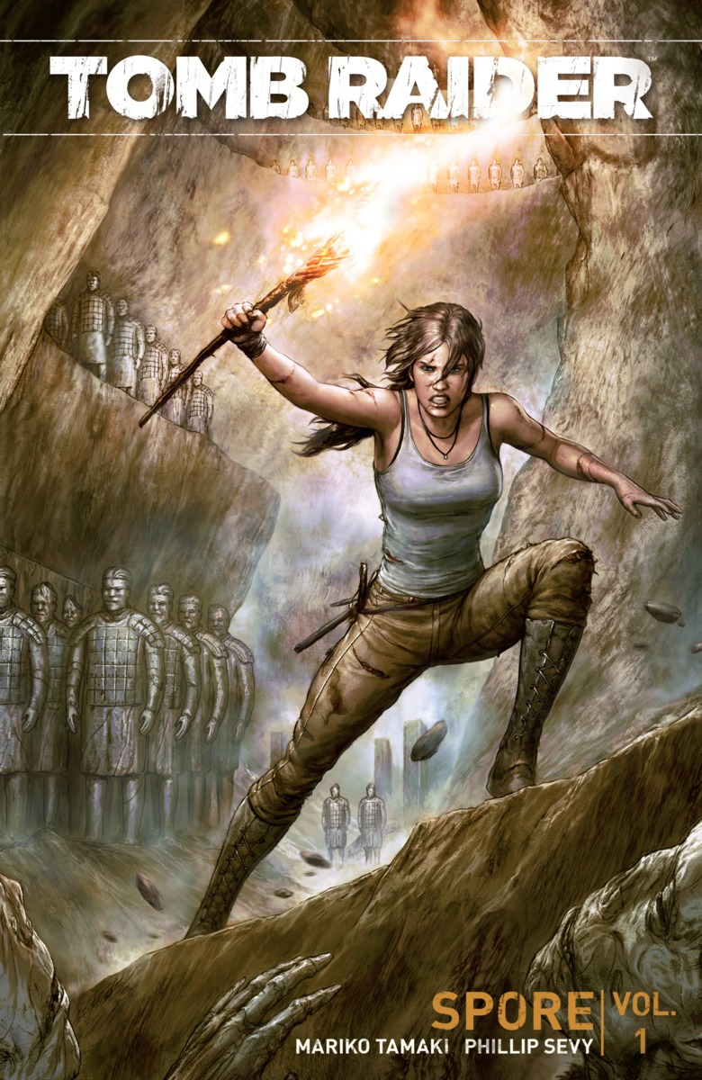 Tomb Raider: Volume 1: Spore игра для xbox microsoft rise of the tomb raider