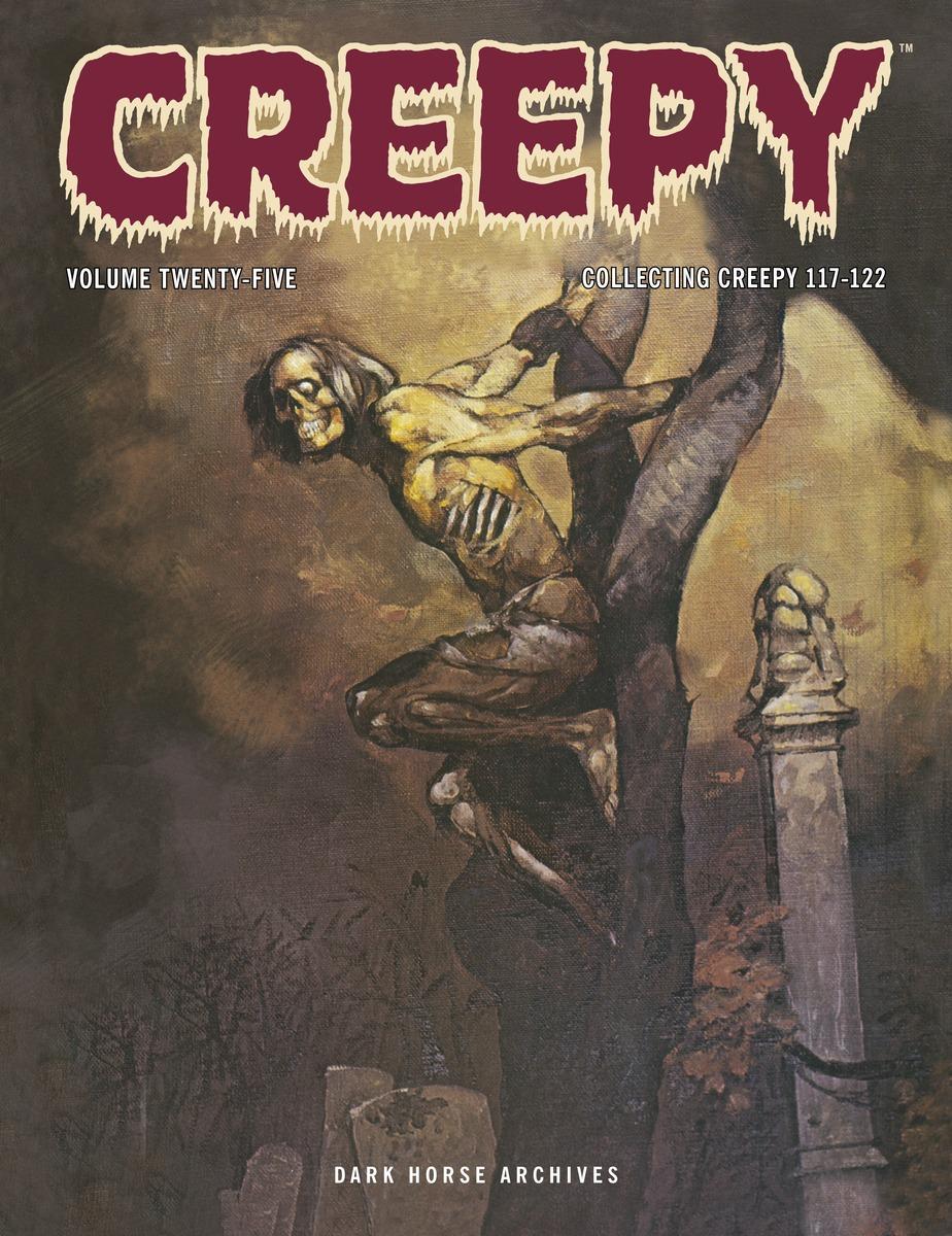 Creepy Archives Volume 25 horror stories