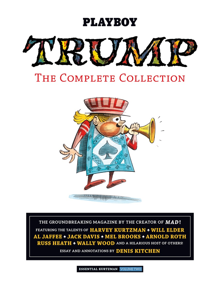 TRUMP: The Complete Collection- Essential Kurtzman Volume 2 secret warriors the complete collection volume 1