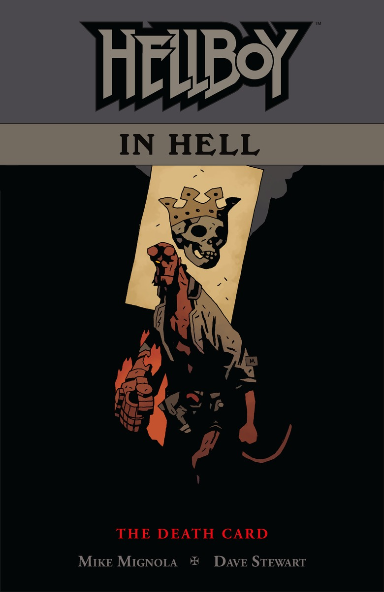 Hellboy in Hell Volume 2. Death Card hellboy the art of hellboy