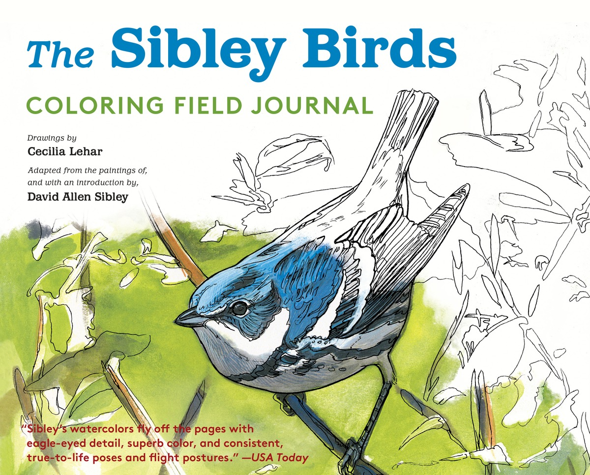 The Sibley Birds Coloring Field Journal coloring mandalas 2 for balance harmony and spiritual well being