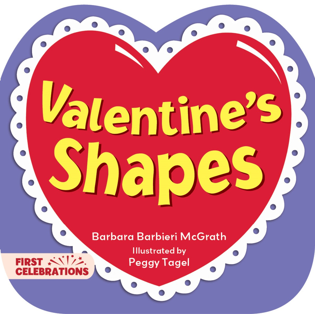 Valentine's Shapes shapes and colors наклейки