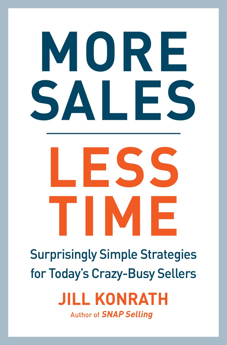 More Sales, Less Time one day at a time