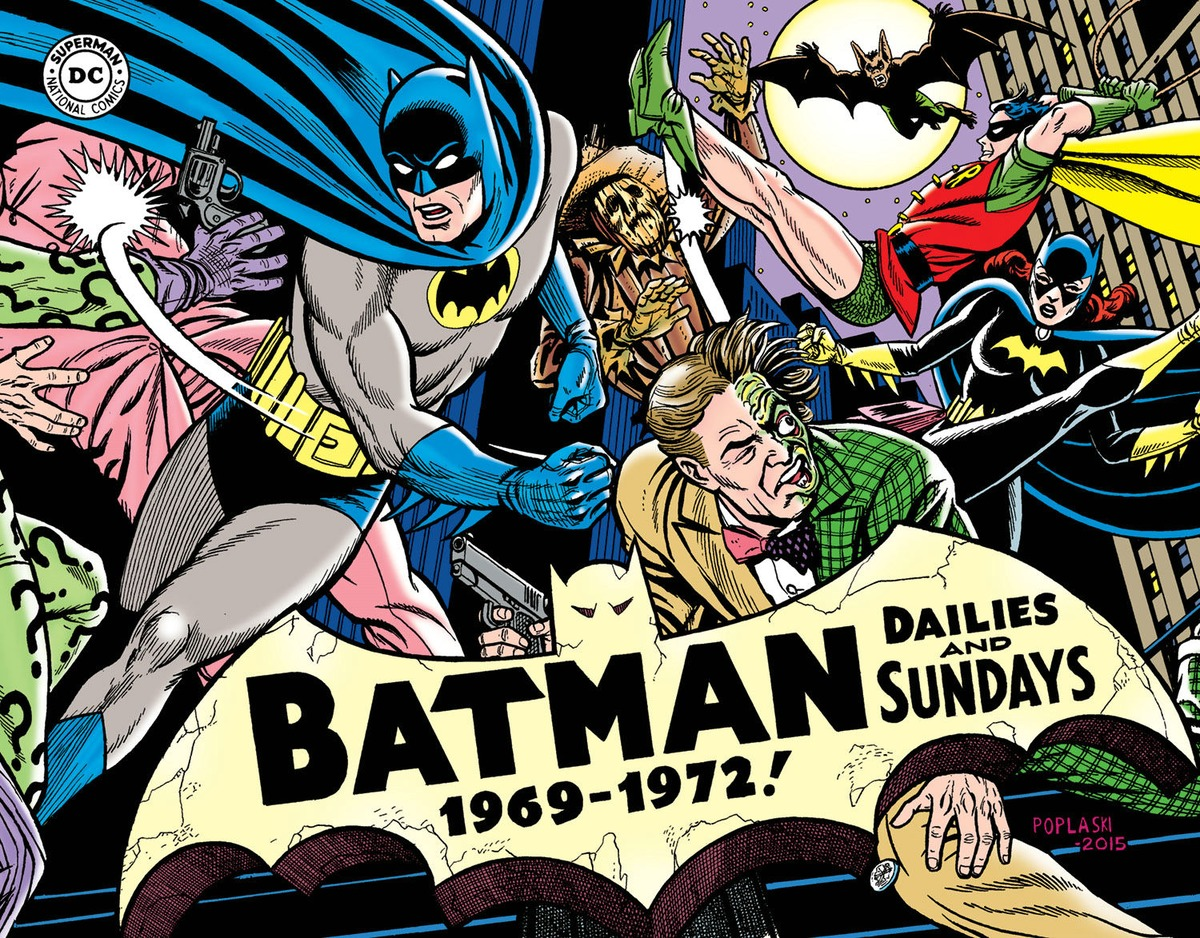 Batman: The Silver Age Newspaper Comics Volume 3 (1969-1972) comics journal library volume 10 the