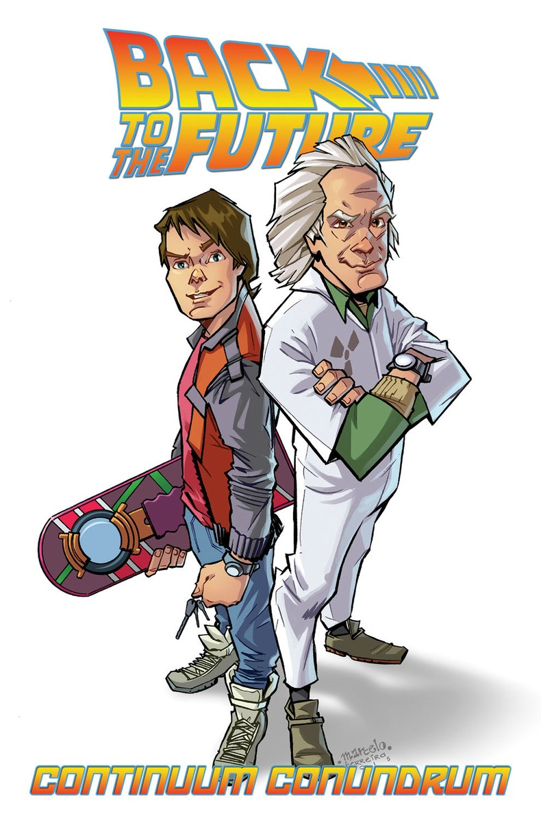 Back to the Future: Continuum Conundrum back to the future the ultimate visual history