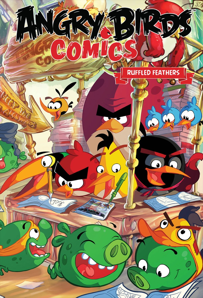 Angry Birds Comics Volume 5: Ruffled Feathers angry birds star wars ps3