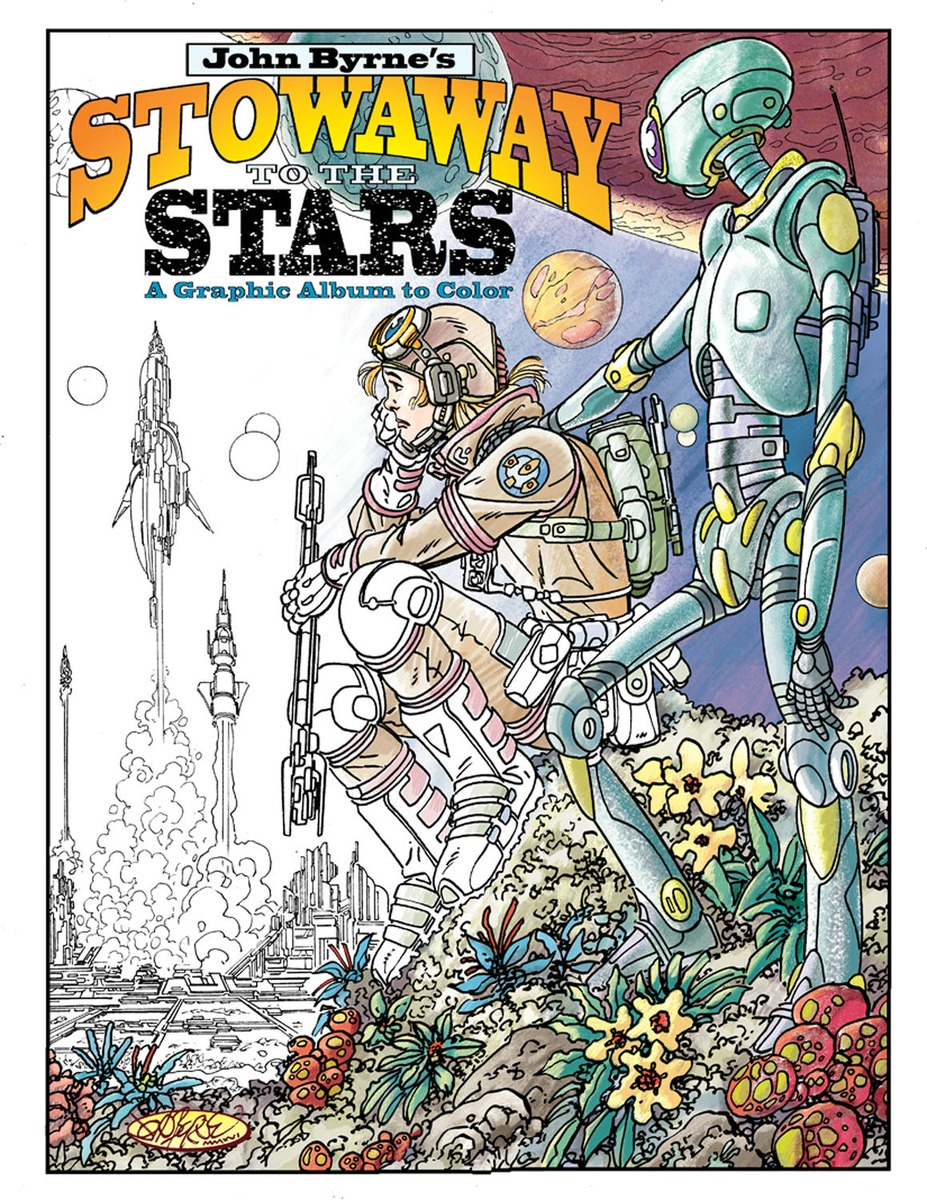 John Byrne's Stowaway to the Stars. A Graphic Album to Color brand new csns300f 001 10pcs set with free dhl ems