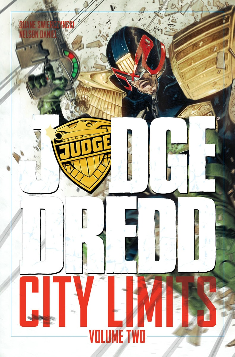 Judge Dredd: City Limits Volume 2 usher rhythm city volume one caught up dvd cd