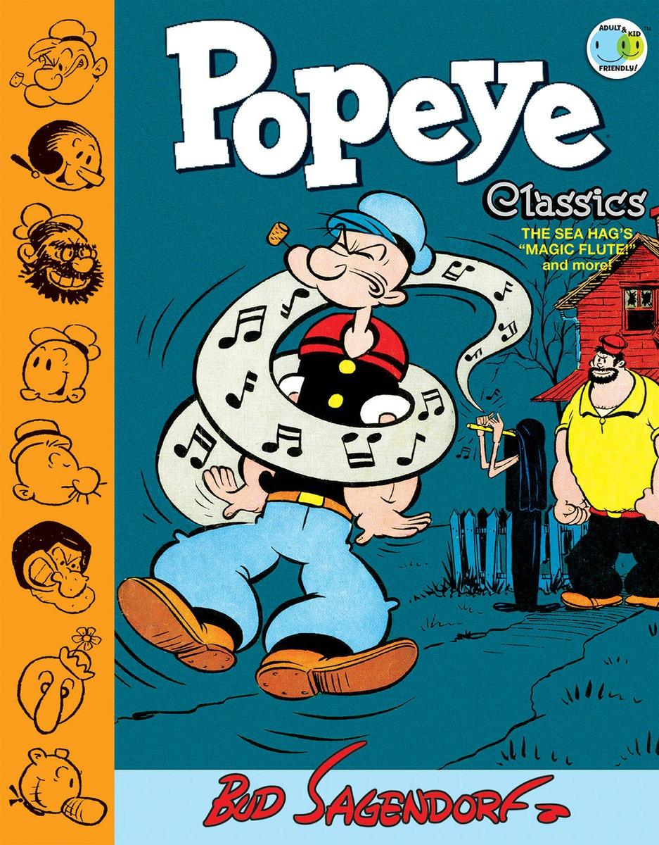 Popeye Classics Volume 9: The Sea Hag's Magic Flute and More art classics