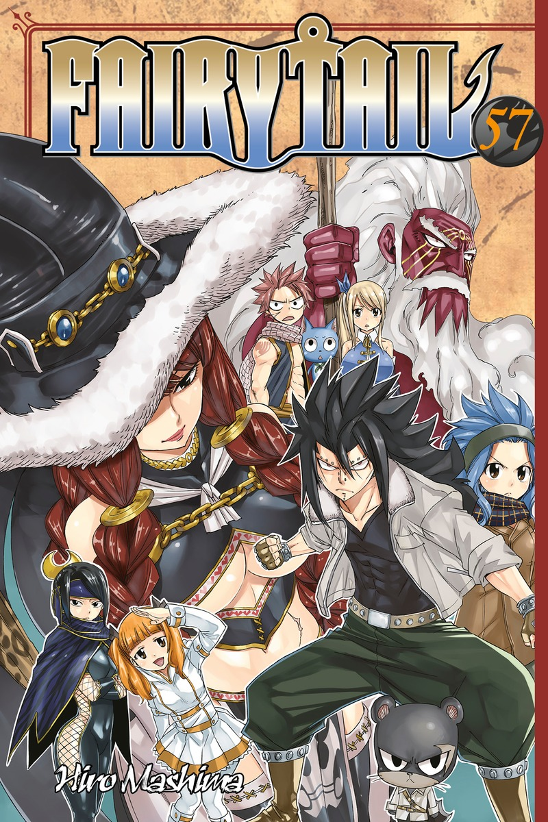Fairy Tail 57 fairy tail twin dragons of saber tooth