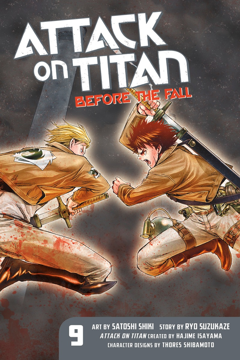 Attack on Titan: Before the Fall 9 baby on board наклейка