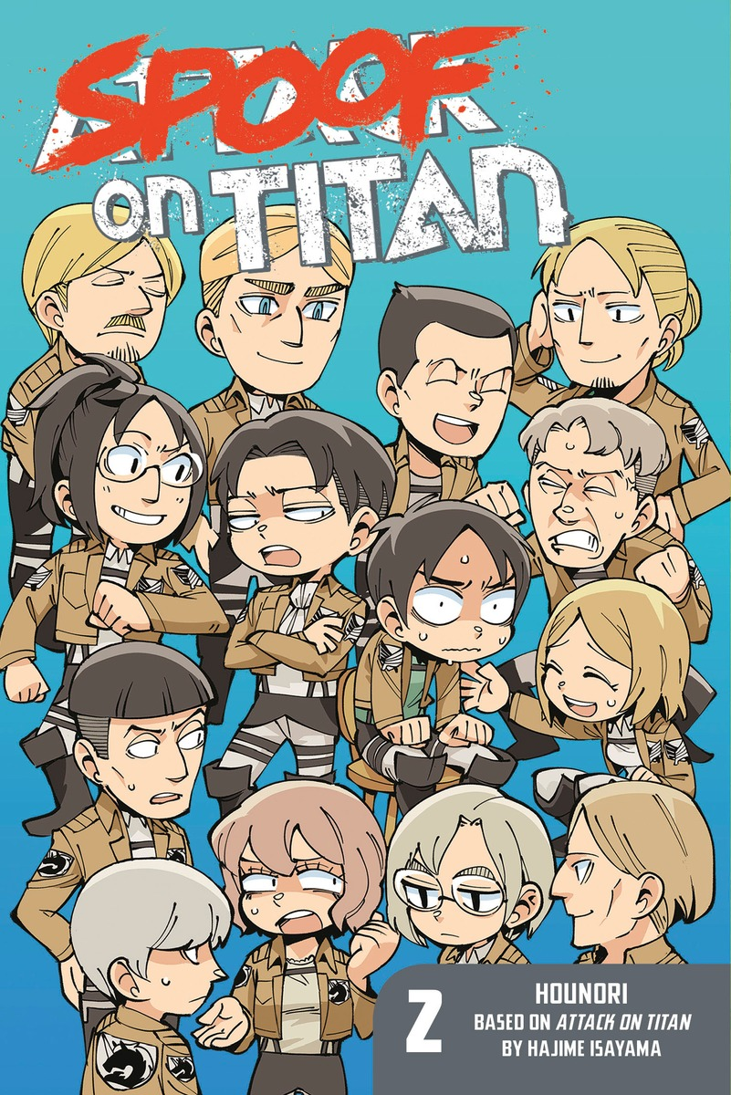 Spoof on Titan 2 (Attack on Titan) attack on titan end of the world