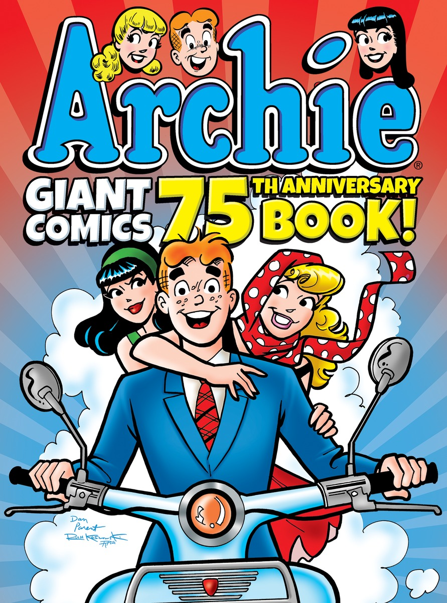 Archie Giant Comics 75th Anniversary Book archie giant comics 75th anniversary book