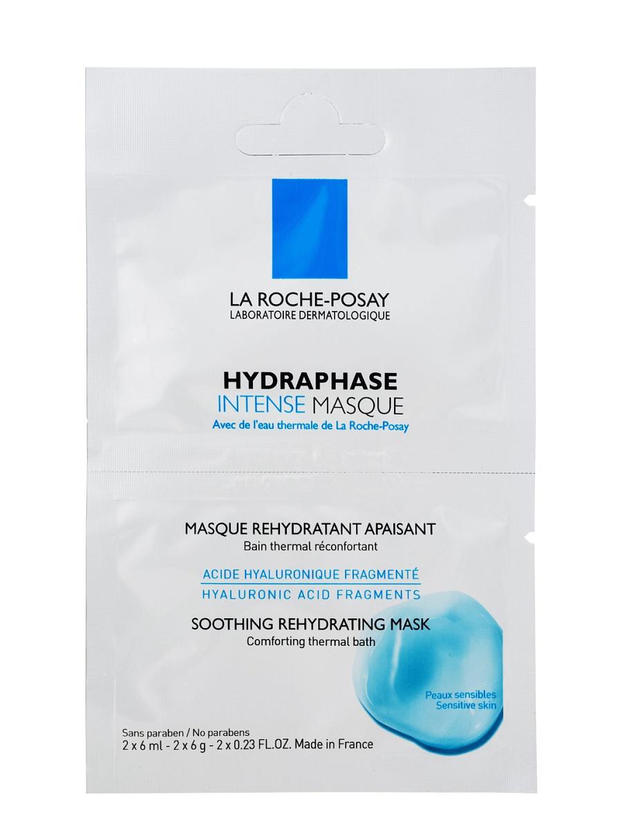 La Roche-Posay Hydraphase Intense Маска – 1 бидоза: 2х6млVRU001441Кожа становится прекрасно увлажненной и смягченной.Можно использовать Hydraphase Masque ежедневно в течение нескольких дней, а затем дважды в неделю для того, чтобы гарантировать длительное увлажнение кожи.