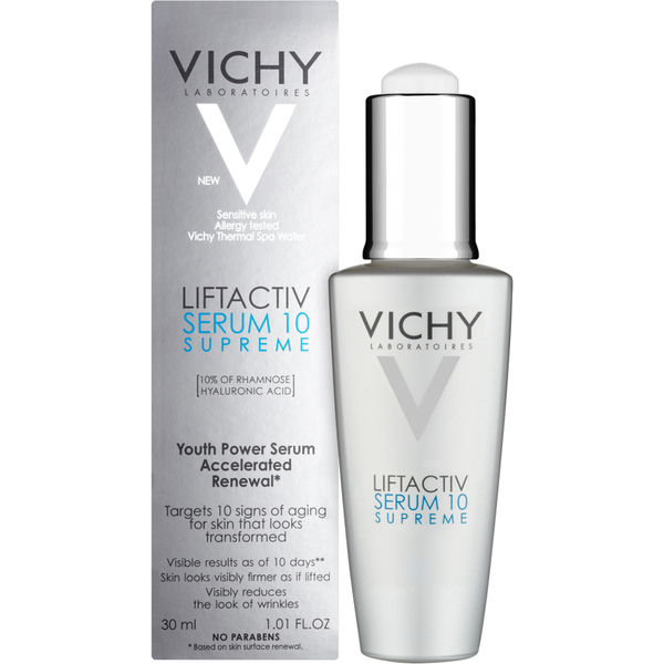 VICHY Liftactiv Supreme Сыворотка 10, 30 мл vichy крем тональный против морщин для всех типов кожи liftactiv flexilift teint тон 35 песочный 30 мл