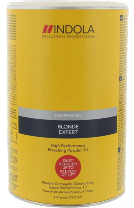Indola Порошок обесцвечивающий 8 уровней осветления Bleaching Powder 450 г1670863Порошок обесцвечивающий. До 8 уровней осветления. Высокая нейтрализация желтизны