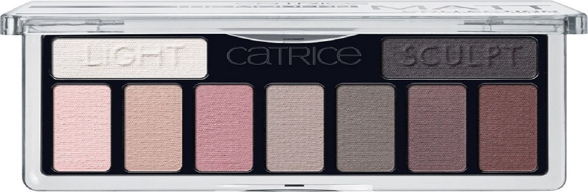 Catrice Тени для век The Modern Matt Collection Eyeshadow Palette 010 матовые, 83 г хайлайтер catrice dewy wetlook stick 010 цвет 010 splash n glow variant hex name f3e4e4
