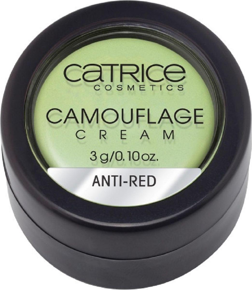 Catrice Консилер Camouflage Cream Anti-Red, 3 г759846Матовый корректор Camouflage Cream нейтрализует и перекрывает любые совершенства кожи. Стойкая текстура и непревзойденные маскирующие свойства в сочетании с мягкой, легко поддающейся растушевке кремовой текстурой, гарантируют безупречный результат: идеально ровный тон кожи без видимых недостатков.