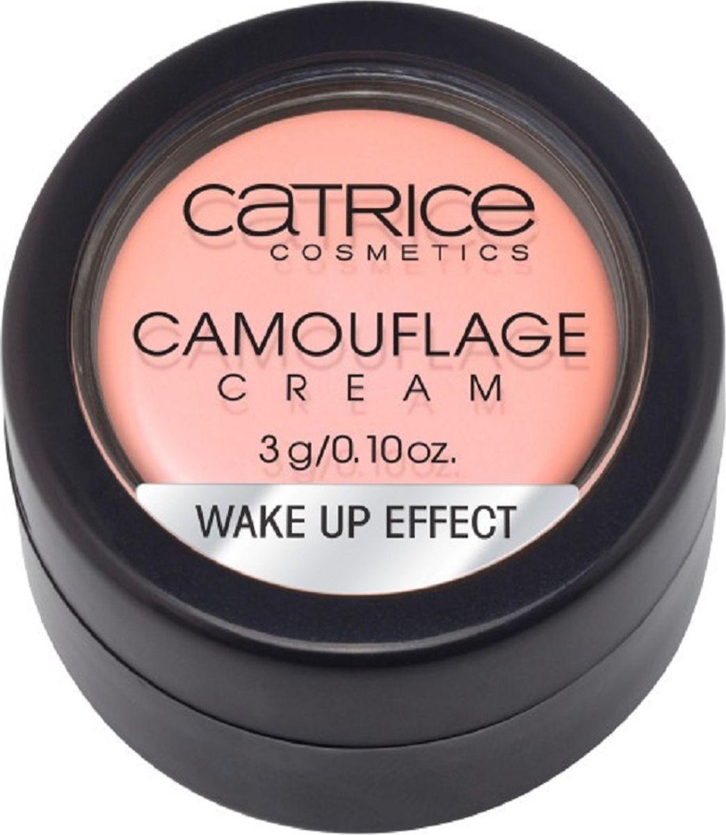 Catrice Консилер Camouflage Cream Wake Up Effect, 14 г759848Матовый корректор Camouflage Cream нейтрализует и перекрывает любые совершенства кожи. Стойкая текстура и непревзойденные маскирующие свойства в сочетании с мягкой, легко поддающейся растушевке кремовой текстурой, гарантируют безупречный результат: идеально ровный тон кожи без видимых недостатков.