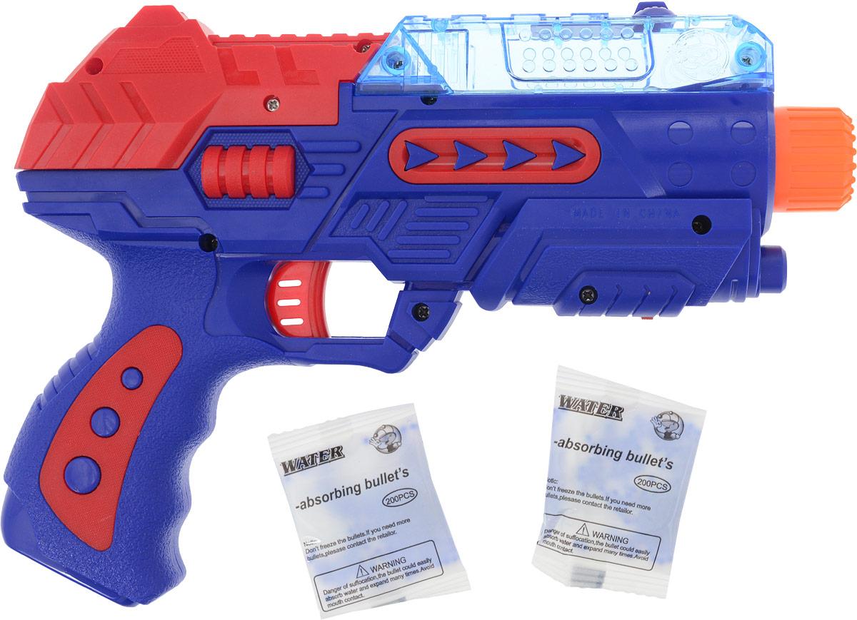 S+S Toys Пистолет с шариками цвет синий s s toys музыкальная игрушка пианино цвет розовый