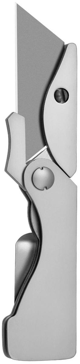 Нож Gerber Industrial EAB Utility22-41830Небольшой нож ежедневного ношения. Клип на рукоятке можно использовать как для ношения ножа, так и в качестве зажима для денег. Механизм liner-lock надежно и безопасно фиксирует нож при работе. Лезвие при необходимости может быть легко заменено. Решетчатый дизайн рукоятки обеспечивает надежный захват и малый вес ножа.Складные ножи Gerber – надежны и удобны в эксплуатации. Складные ножи занимают меньше места при хранении и переноске, чем ножи с фиксированным клинком. Благодаря тому, что лезвие такого ножа полностью или почти полностью прячется в рукоять, оно хорошо защищено от повреждений, а транспортировка совершенно безопасна. Для удобного ношения некоторые модели складных ножей снабжены клипом. Состав материала: Сталь клинка: нержавеющая сталь с высоким содержанием углерода