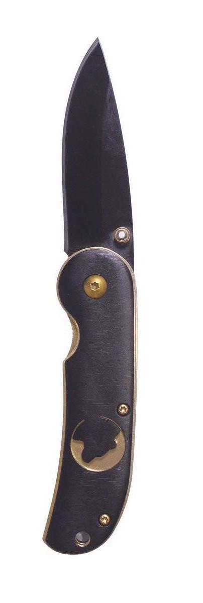 Нож складной Stinger SL309, цвет: черный, золотой, 6,3 см6900000431870Нож Stinger SL309 всегда найдет себе применение на даче или в гараже, на рыбалке или охоте. Малые габариты делают его удобным при частой транспортировке. Лезвие выполнено из высококачественной нержавеющей стали. В открытом состоянии нож фиксируется, что значительно повышает безопасность. Благодаря особой форме ручки и шпыньки на лезвии Stinger SL309 можно открывать одной рукой. Характеристики: Материал: металл. Длина лезвия: 6,3 см. Размер ножа в сложенном виде: 9 см х 2,7 см х 1,5 см. Размер в упаковке: 10,6 см х 4,2 см х 2 см.