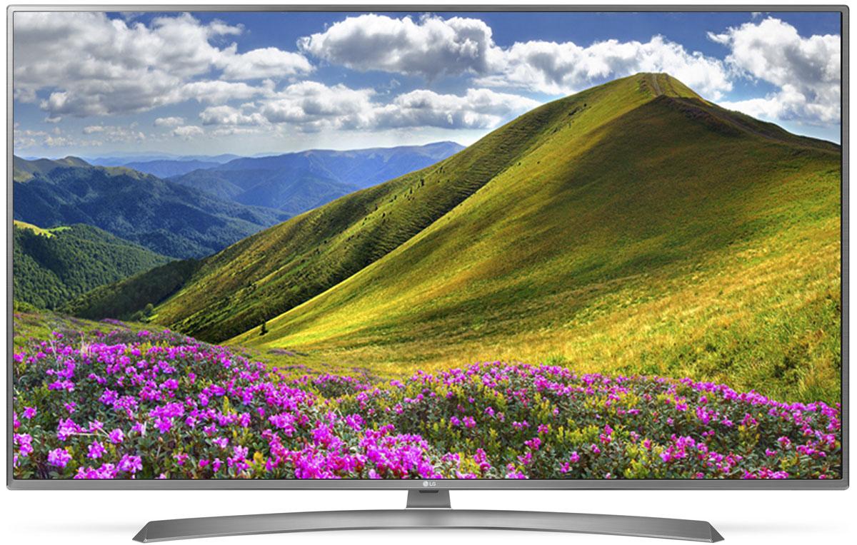 LG 49UJ670V телевизор90000002066Телевизор LG 49UJ670V передает точную цветопередачу и контрастность. С технологией IPS 4K цвета выглядят ярче и контрастнее под каким бы углом вы ни взглянули на экран.Технология Active HDR анализирует и оптимизирует контент в форматах HDR10 и HLG, создавая еще более захватывающее изображение с широким динамическим диапазоном. Благодаря особой технологии обработки видео в форматах HDR10 и HLG выбор HDR-контента становится шире.Уникальный режим HDR Effect увеличивает контрастность контента, снятого в стандартном динамическом диапазоне, и тем самым создает эффект HDR-качества.Используя алгоритм обработки видео 4K Upscaler, можно масштабировать изображение до разрешения 4К.Наполните пространство вокруг себя богатым звуком. Окунитесь в глубины звука благодаря новейшей технологии симуляции семиканального звучания.Гладкий, тонкий, бесшовный - этими словами можно описать дизайн нового LG 49UJ670V. Безупречный корпус идеально обрамляет телевизор, не отвлекая от картинки на экране.Современный пульт Magic Remote и обновлённый интерфейс webOS 3.5 создают максимальный комфорт для погружения в новый яркий мир: самое время окунуться в интригующий сюжет.