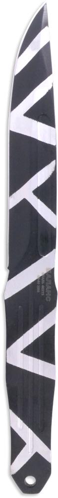Нож метательный Ножемир Баланс, общая длина 24,5 см, цвет: черный. M-116-2M-116-2Нож метательный M-116-2 Баланс. Нож выполнен из цельного куска стали. Такая конструкция обеспечивает ножу высокую прочность и максимальную надёжность при метании на большие расстояния. В комплекте с ножом поставляется удобный нейлоновый чехол для ношения на поясе.Длина клинка, мм - 136Толщина клинка, мм - 4Общая длина, мм - 245Материал рукояти - металлНожны - кордураСталь - 40х13Твёрдость стали - HRC 45 - 50