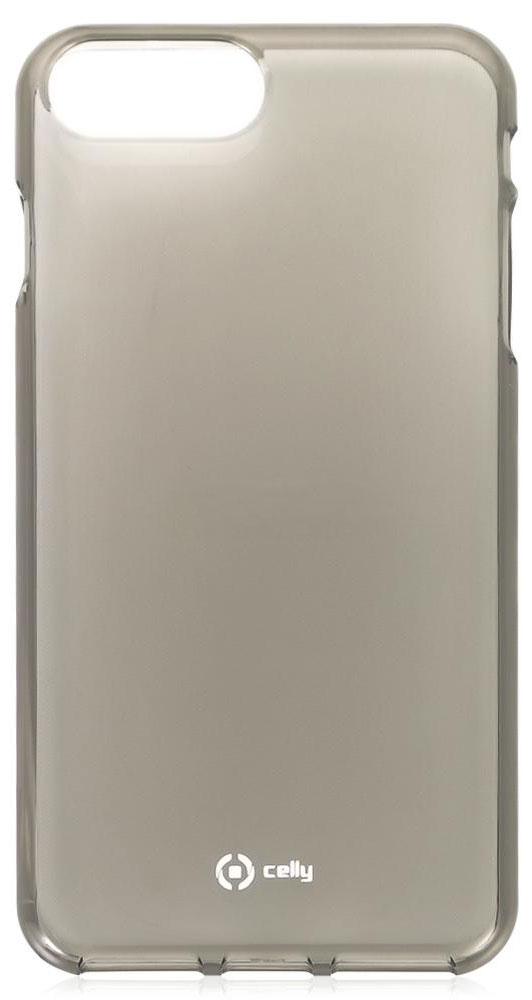 Celly Gelskin чехол-накладка для Apple iPhone 7 Plus/8 Plus, Black чехол накладка чехол накладка iphone 6 6s 4 7 lims sgp spigen стиль 7 580081