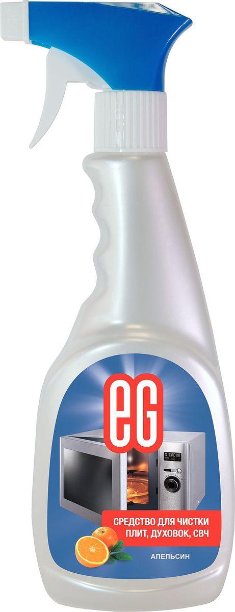 Средство для чистки плит, СВЧ, духовок Еврогарант Апельсин, 500 мл спрей topperr для чистки духовок и грилей 500 мл