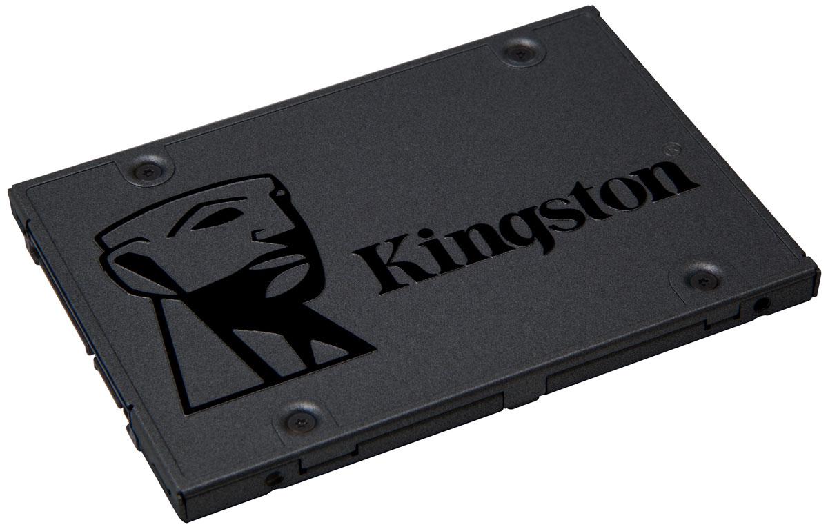 Kingston A400 240Gb SSD-накопитель (SA400S37/240G)SA400S37/240GТвердотельный накопитель Kingston A400 значительно повышает скорость работы системы, обеспечивая более высокую скорость запуска, загрузки и передачи данных по сравнению с механическими жесткими дисками. ЭтотSSD создан на базе контроллера последнего поколения со скоростью записи и чтения 500 МБ/с и 350МБ/с и обеспечивает в 10 более высокую скорость работы по сравнению с традиционными жесткими дисками. Благодаряэтому обеспечивается повышенная производительность, сверхотзывчивая многозадачность и общее ускорение системы.Накопитель A400 изготовлен с использованием флэш-памяти, поэтому он более надежен и долговечен, чем жесткий диск. В нем нет подвижных деталей, поэтому вероятность сбоя ниже, чем у механического жесткогодиска. Также он имеет более низкий уровень шума и нагрева, а ударостойкая и виброустойчивая конструкция делают его идеальным решением для ноутбуков и других мобильных цифровых устройств.A400 поддерживает различные варианты емкости, от 120ГБ до 480ГБ предоставляя достаточно пространства для хранения всех ваших приложений, видео, фотографий и других важных документов. Также он может стать заменой жесткого диска или SSD меньшего объема для хранения всех ваших файлов.Как собрать игровой компьютер. Статья OZON ГидКакой SSD выбрать. Статья OZON Гид