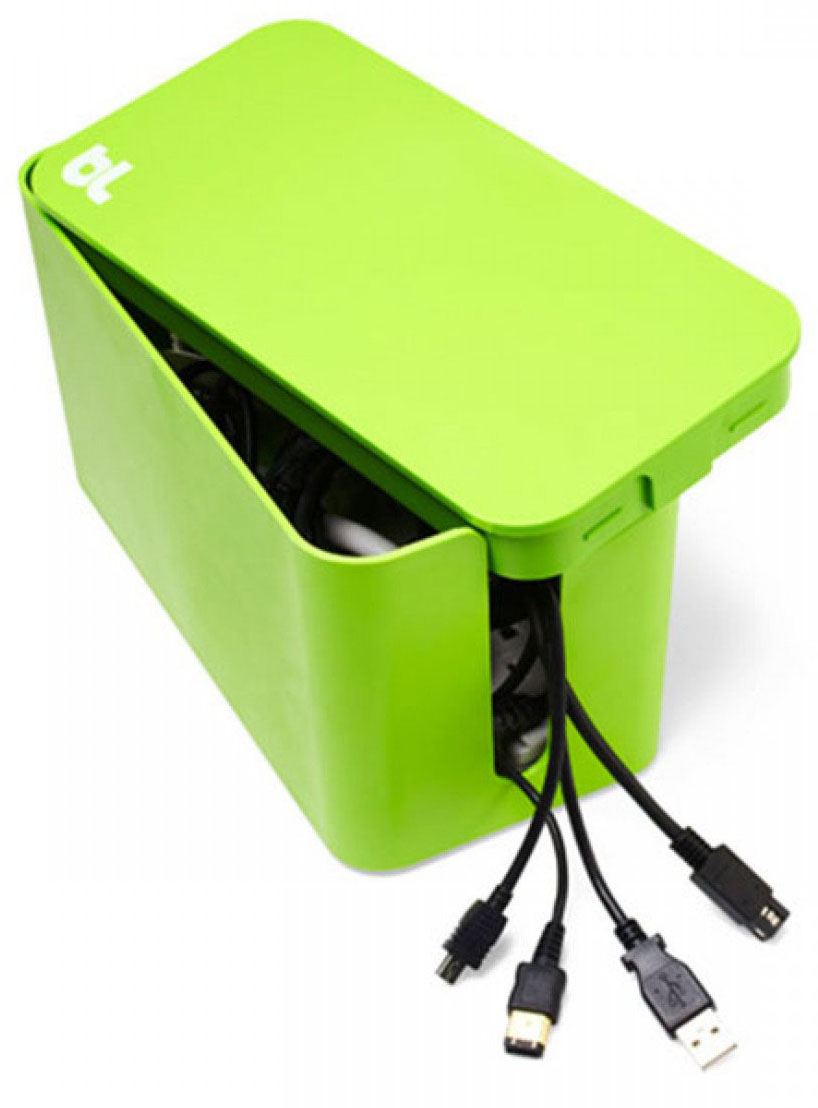 Bluelounge CableBox CBM-GRN, Green бокс для проводовCBM-GRN